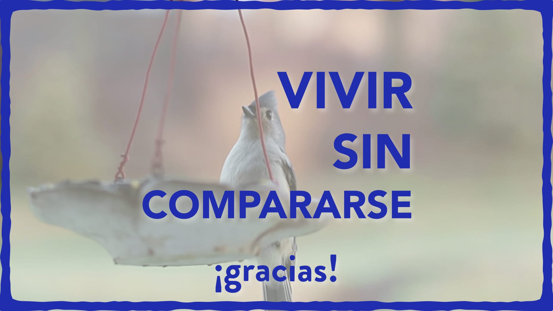 image from Vivir sin compararse