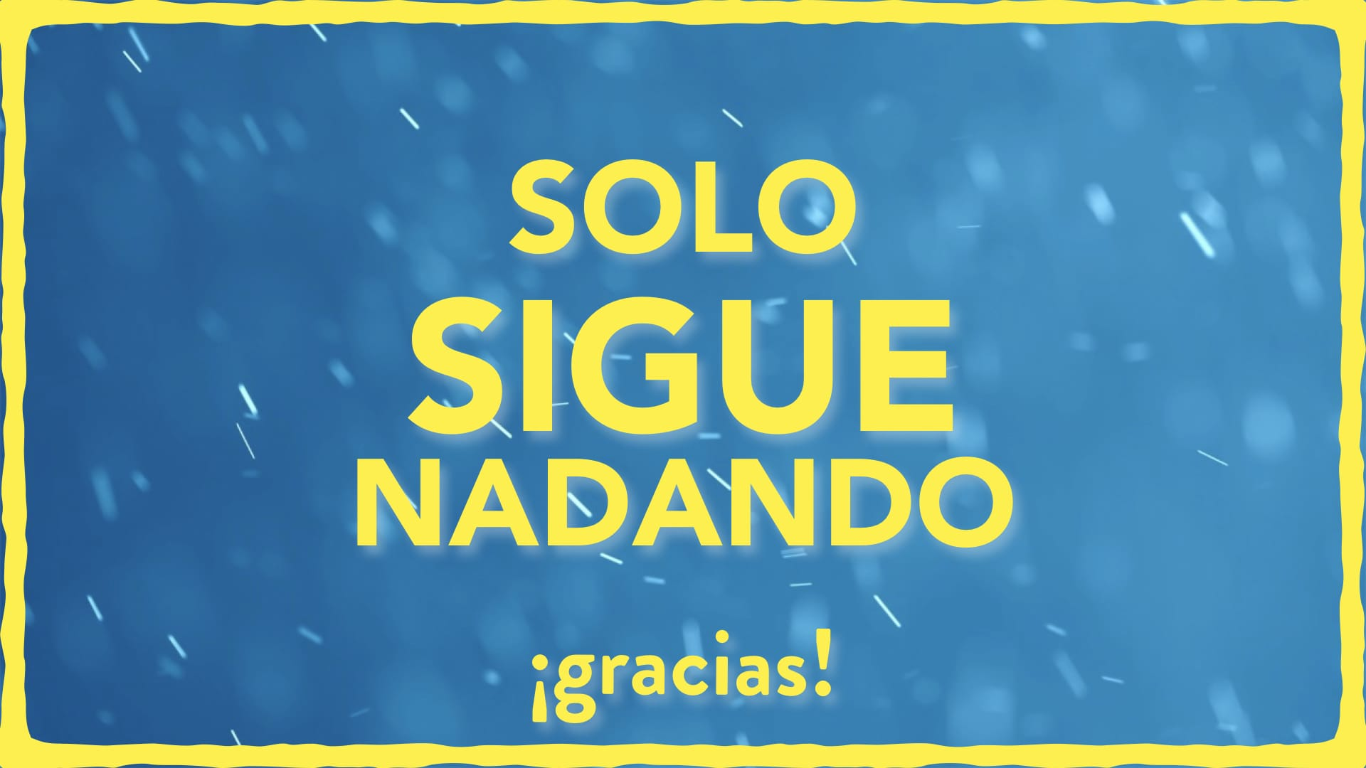 image from Solo sigue nadando